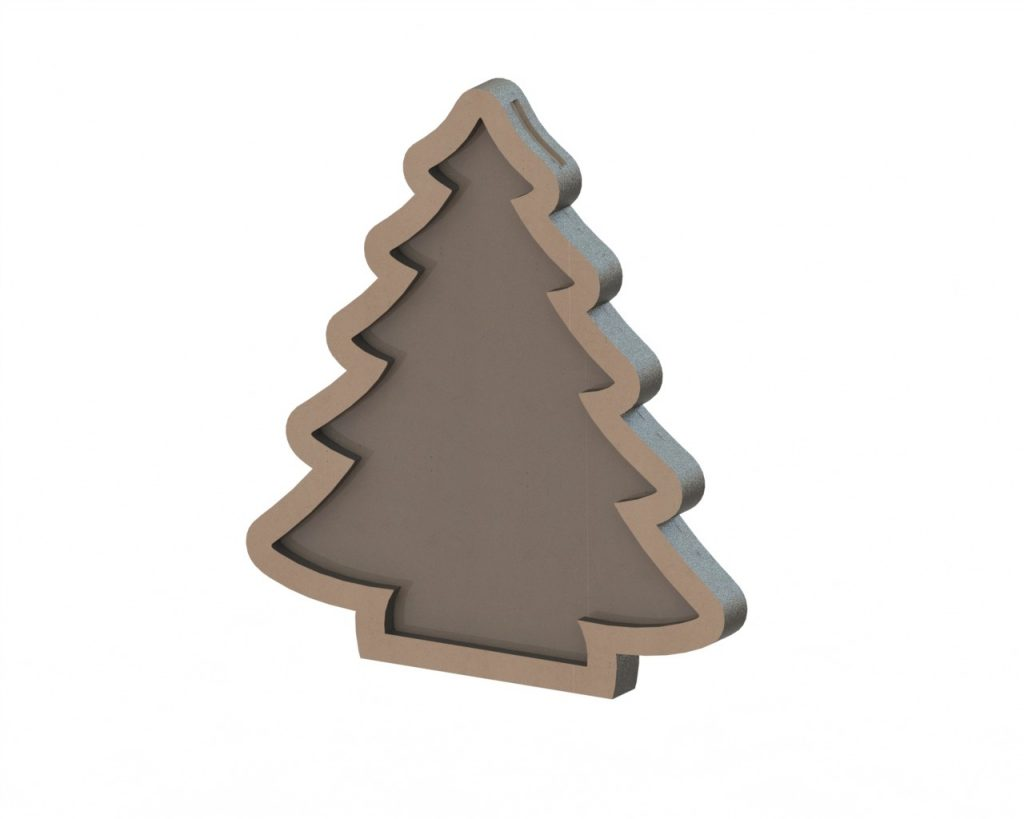 Cdr file Christmas tree Free Vector