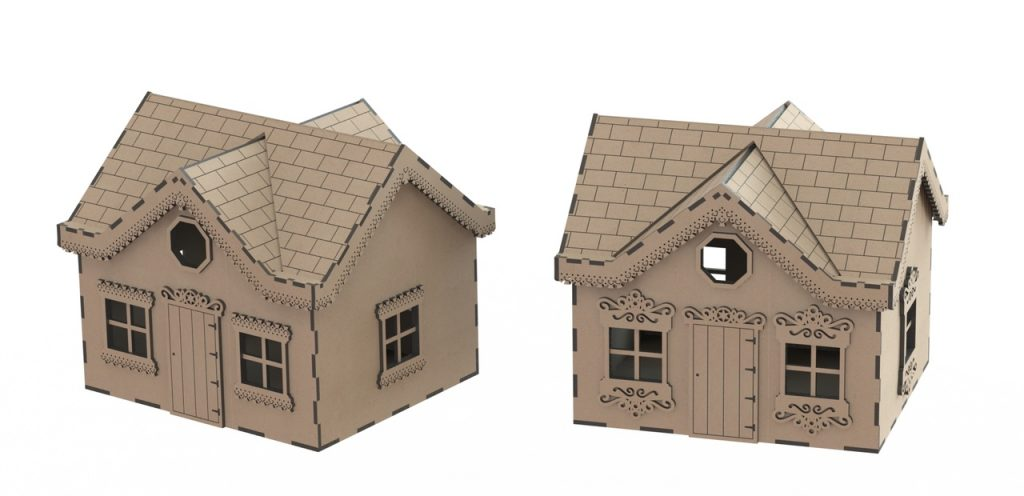 wooden doll house files
