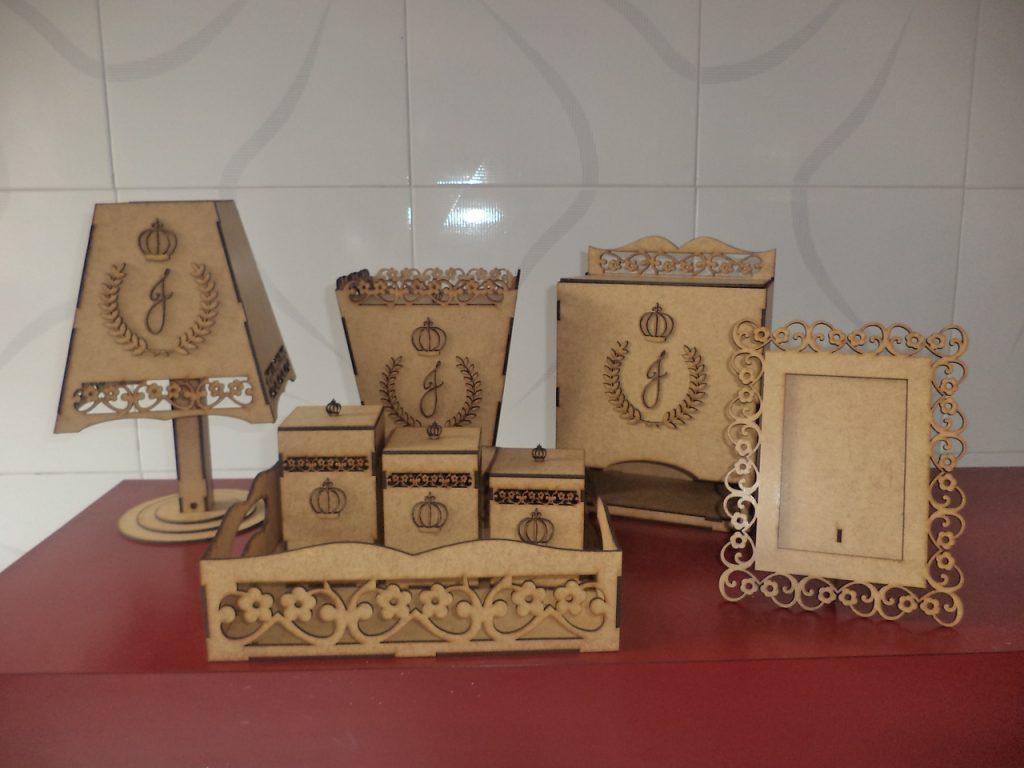 DXF file Home set kit lamp box CNC Cut file Laser