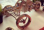 Cdr file Plywood Bike For CNC Plasma Laser Cut
