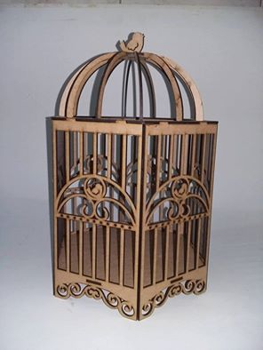 Cdr file cage For CNC Plasma Laser Cut - cnc vector - Ready to Cut