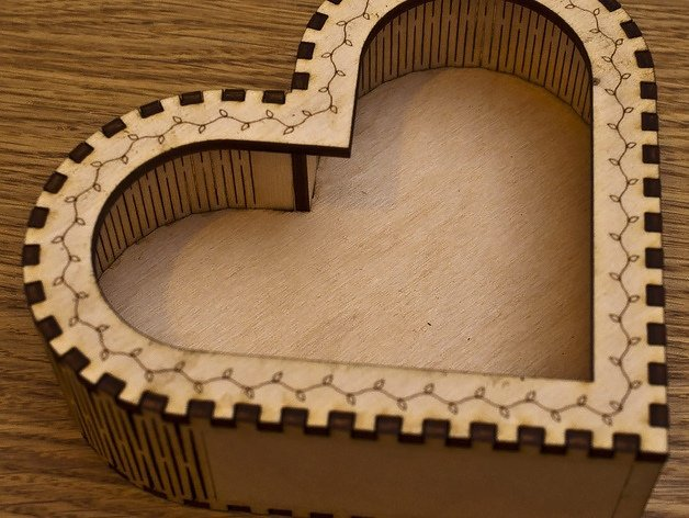 Heart box CNC Files FREE to Download