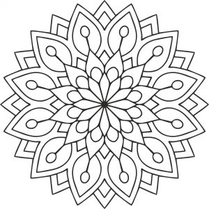 Mandala_flower cdr file free download cdr design