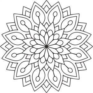 Mandala_flower cdr file free download cdr design