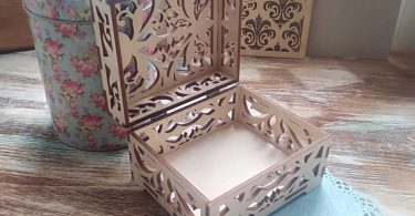 laser cut designs jewelry gift box ideas