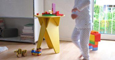 Plywood stool