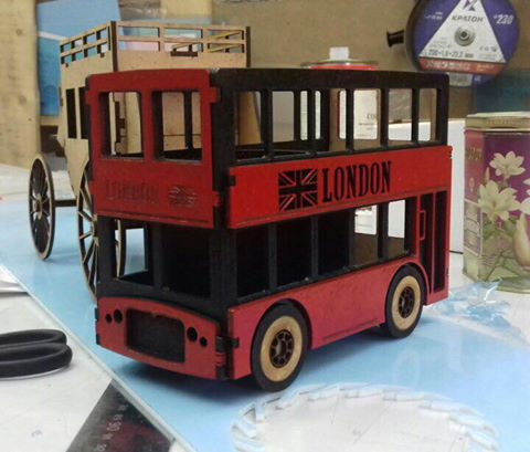 Truck laser cut models free download for laser router cutting