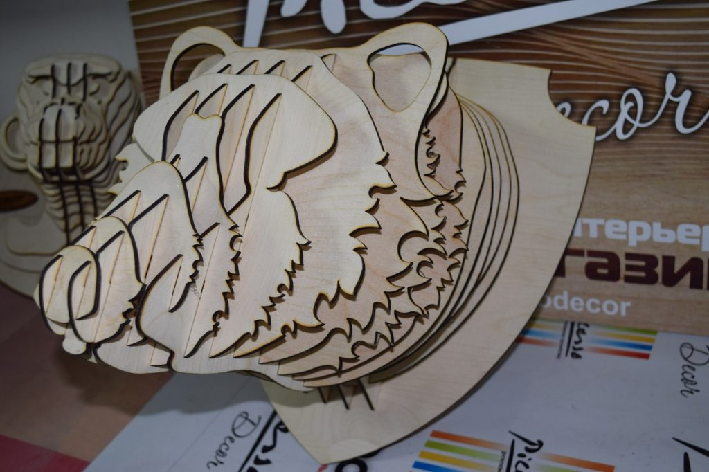 Download free dxf files bear free vector laser cut plans