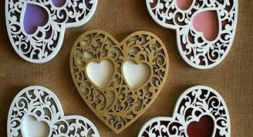 Heart box free laser cut files