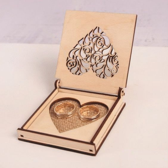 Laser Cut Wooden Jewelry Box Plans Free Downloads Freevector