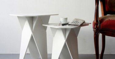 Wedge side tables free laser cut designs download