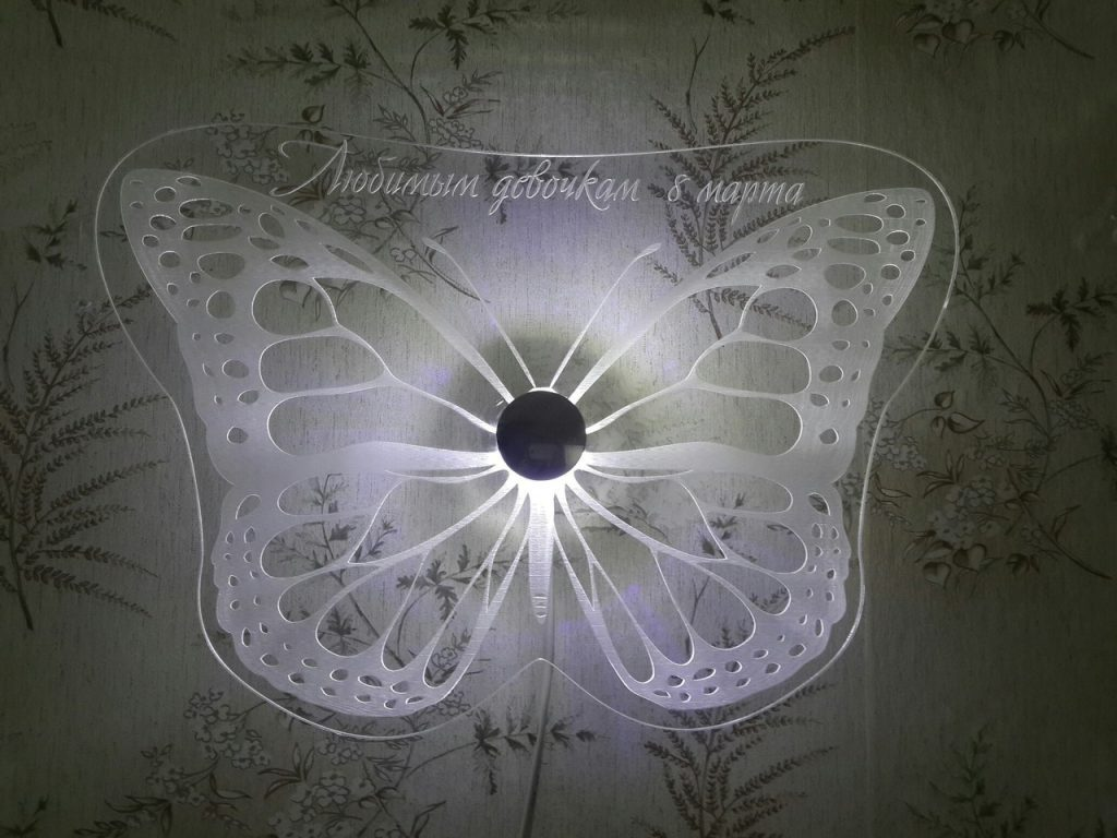butterfly vector for laser cut designs