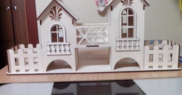 Tea house laser cut templates free design for laser cutting