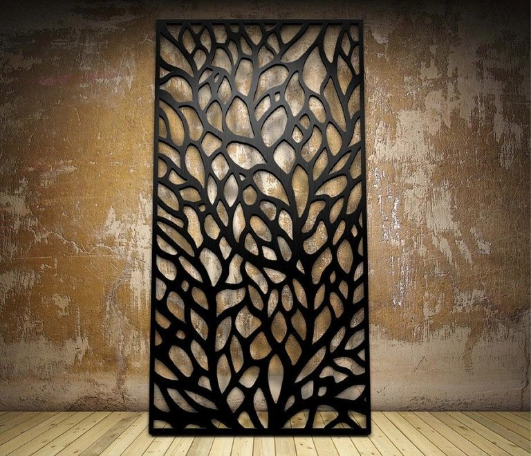 New Laser Cut Designs Metal Free Freevector