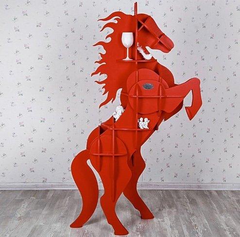 Horse Table plan laser cut wood designs free download