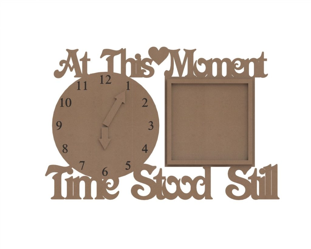 wooden clock plans- dxf free laser cutting projects