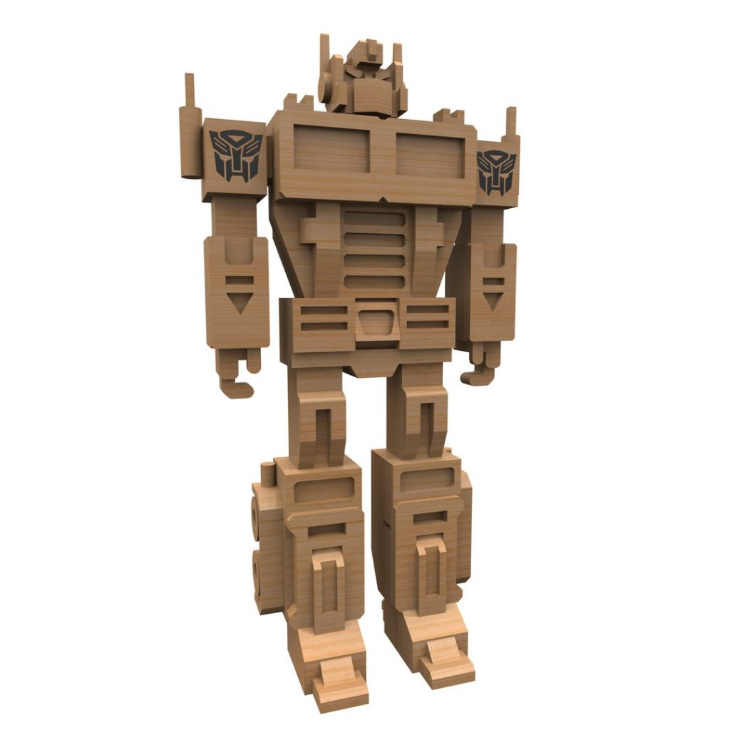 Optimus Prime laser cut projects download dxf files