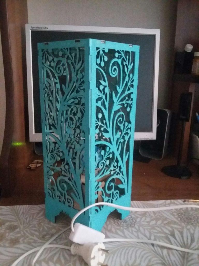 Wood lamp design