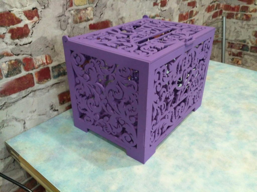 Amazing laser cut box |laser cutter projects download