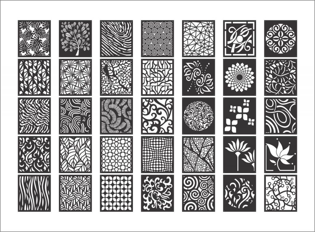 New laser cutting designs DXF file | design for laser cutting
