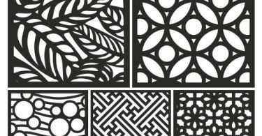 laser cutting designs dxf files download.