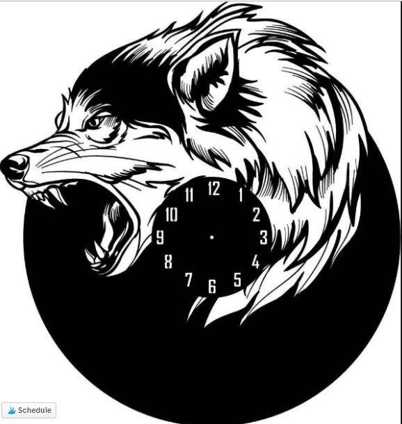 wall clock vector free download