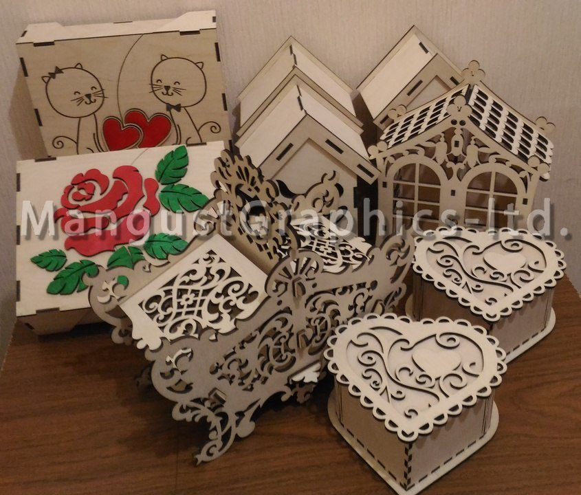 Amazing laser cut ideas