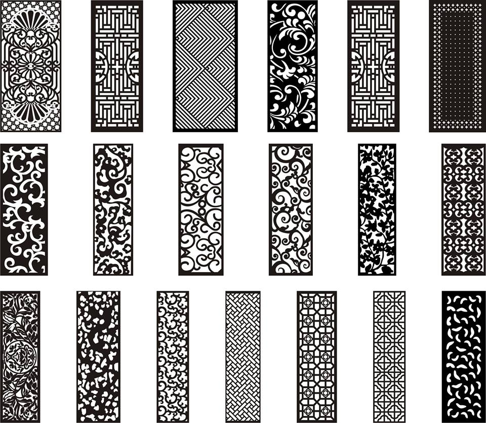 CNC Designs Vector Files for CNC Cutting & Engraving