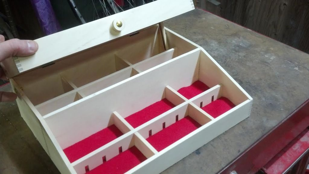 Cdr file Plywood Organizer pdf and ai file for laser cut cnc vector