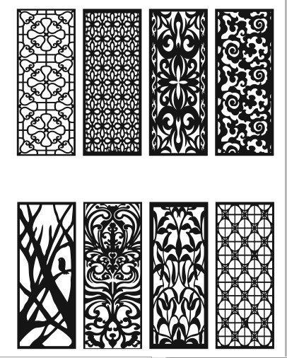 Cnc cutting Designs Patterns
