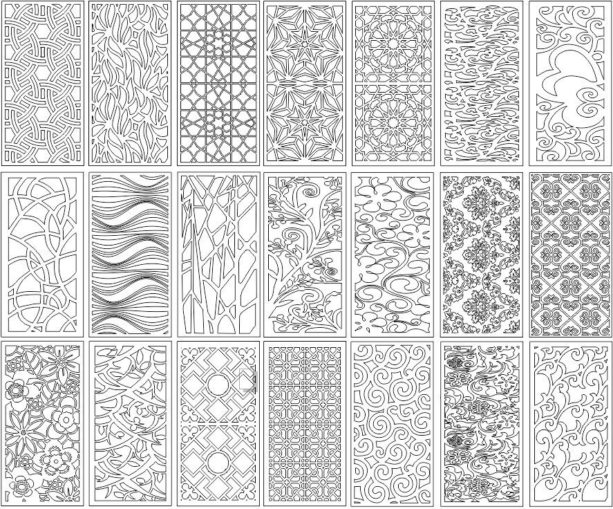 Decorative Screens Panels Laser Cut Designs Free Laser Cut Designs