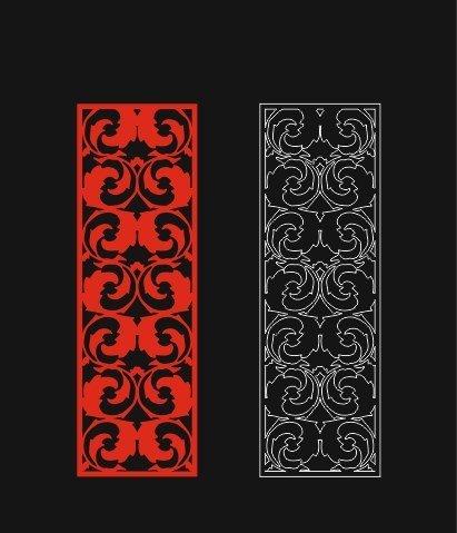 cnc pattern dxf file