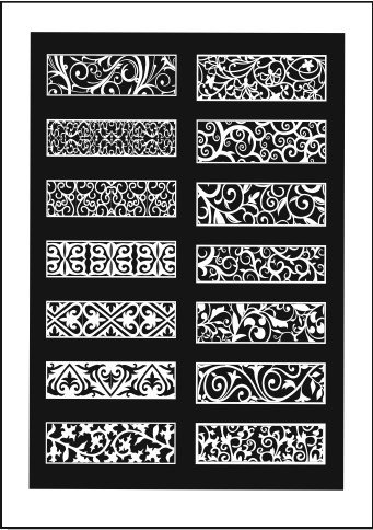 cnc wood carving patterns