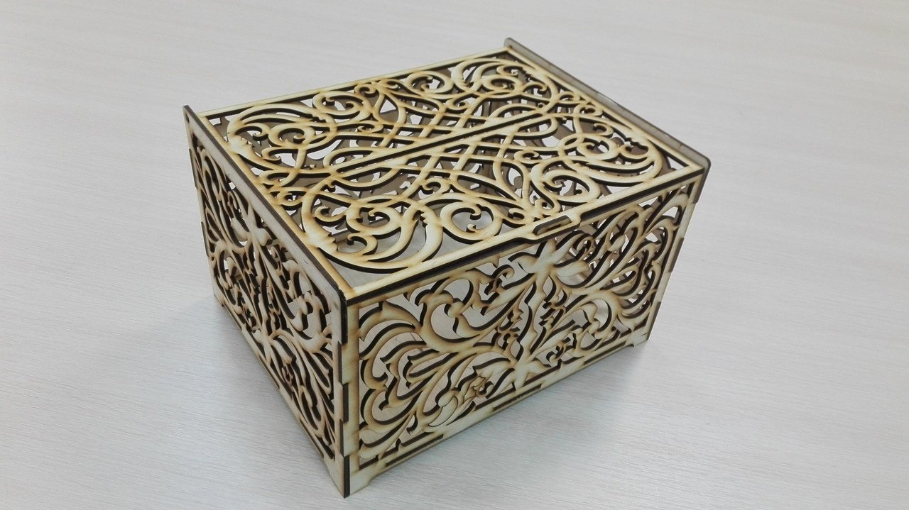 laser cut box download