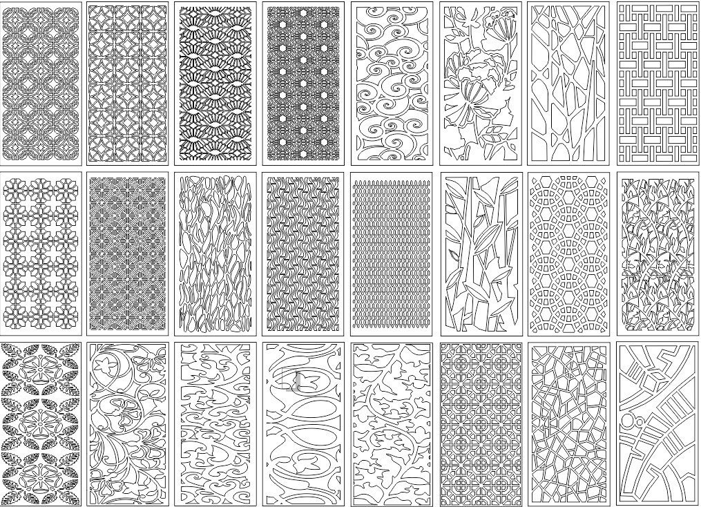 Decorative Screens Panels Laser Cut Designs | Free Laser Cut Designs