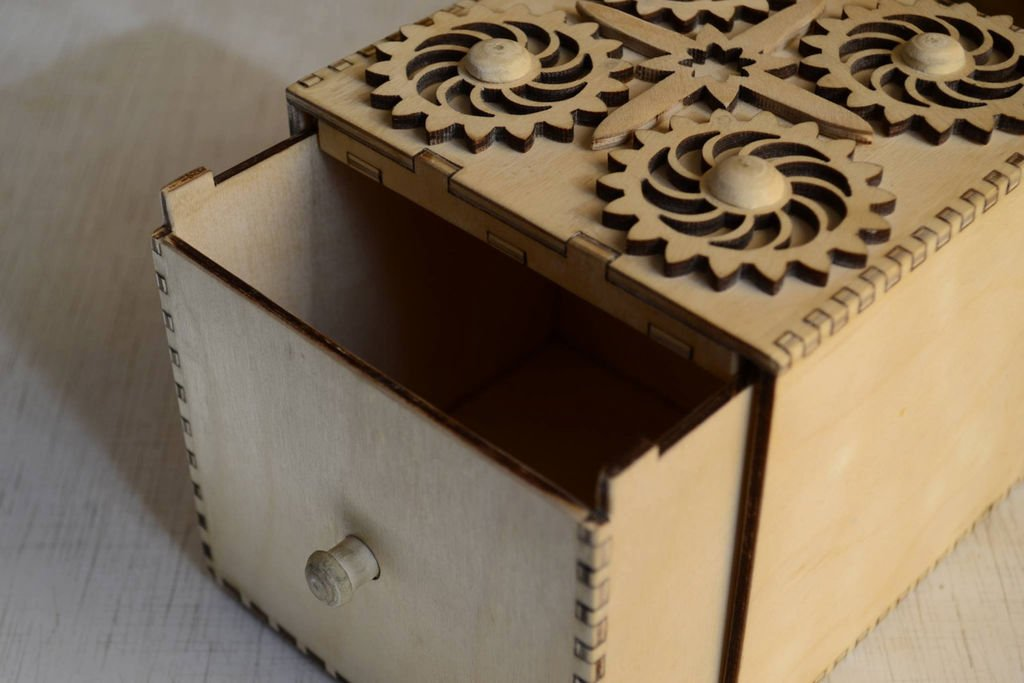 Box laser cut Collection Free