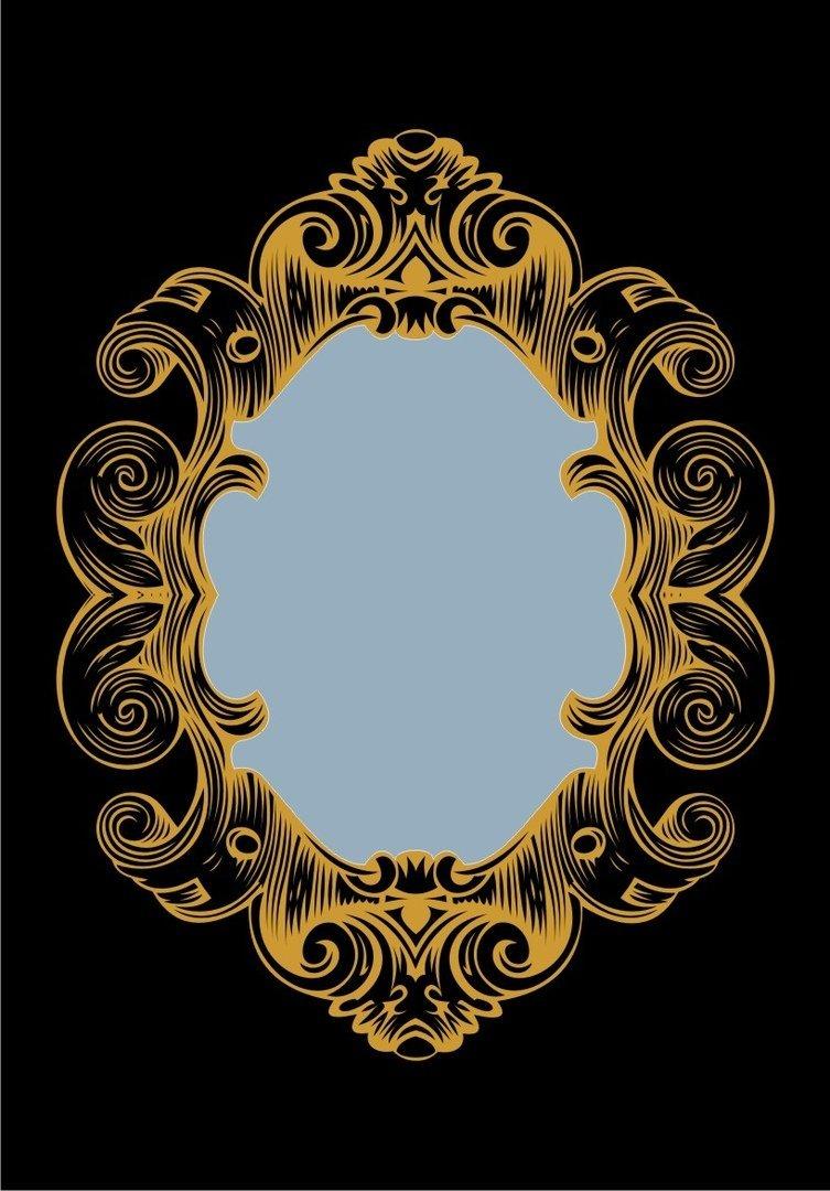 Frames Modern Frame Vector Gold Download