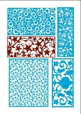 Laser Cut Panels laser Cutting Designs DXF Files Free Download