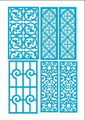 Laser Cut Panels laser Cutting Designs DXF Files