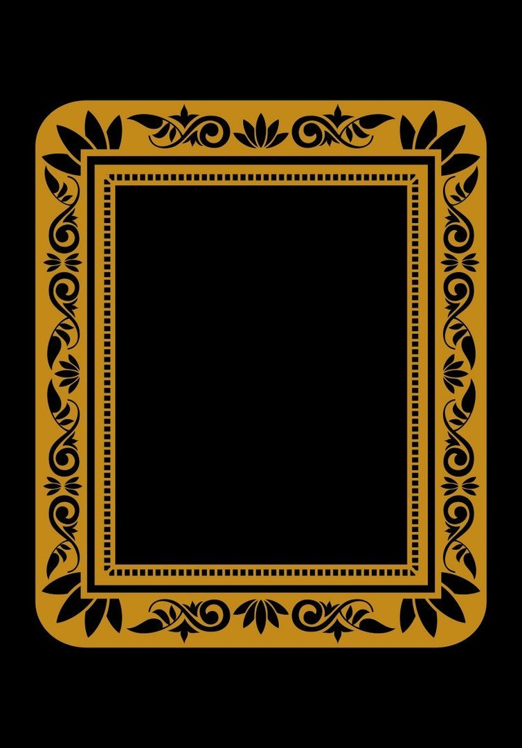 frame vector gold