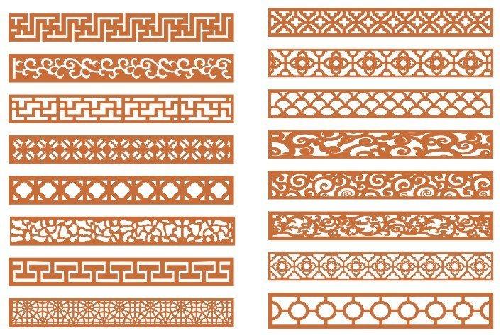CNC Cutting Design Patterns Download
