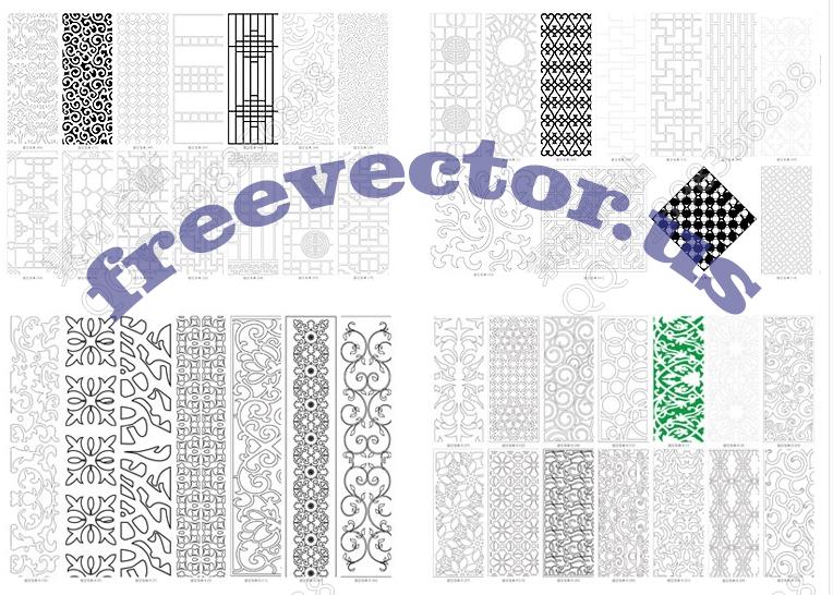 CNC Patterns Free DXF Files
