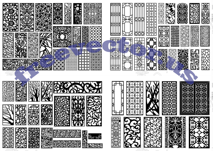 CNC Vector Free DXF Downloads CNC Patterns Free DXF Files