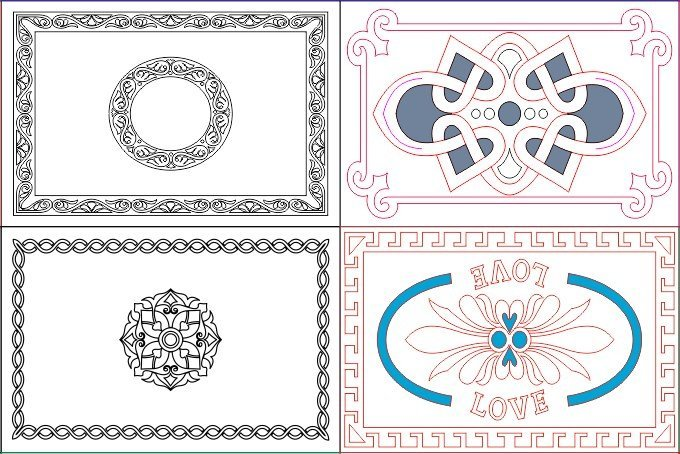 Free DXF files For Laser Cut Files