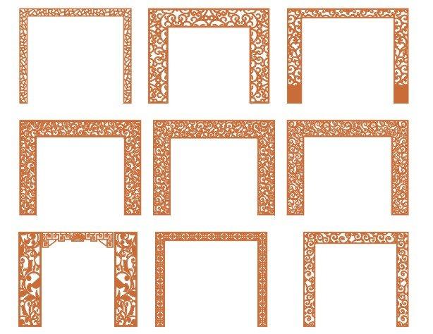 cnc pattern dwg
