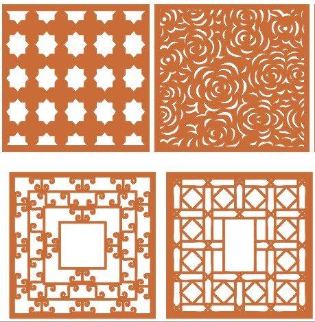 cnc patterns wood