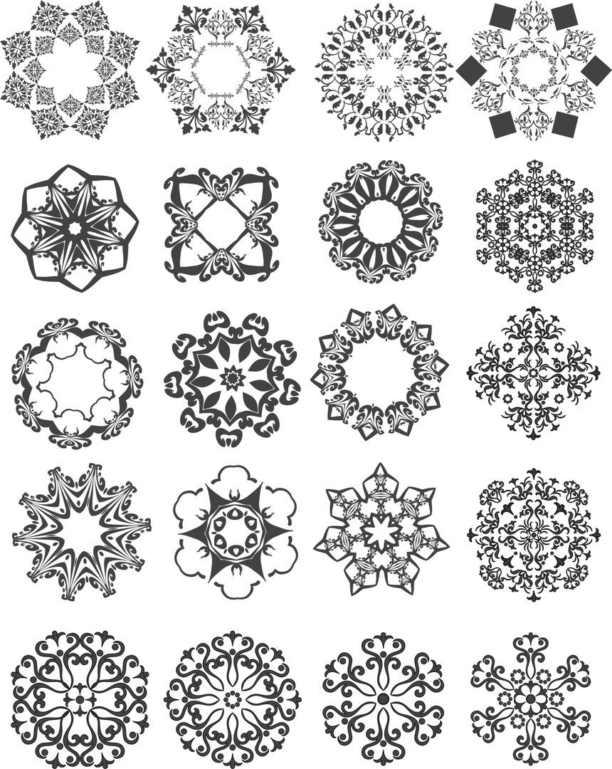 cnc cutting designs patterns