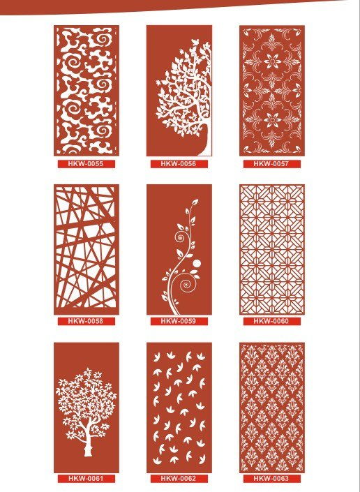 Free CNC Patterns Collection Vector Design Pattern Files