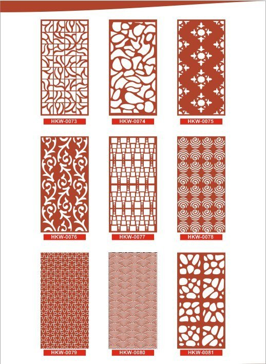 Free CNC Patterns Collection Vector Design Pattern