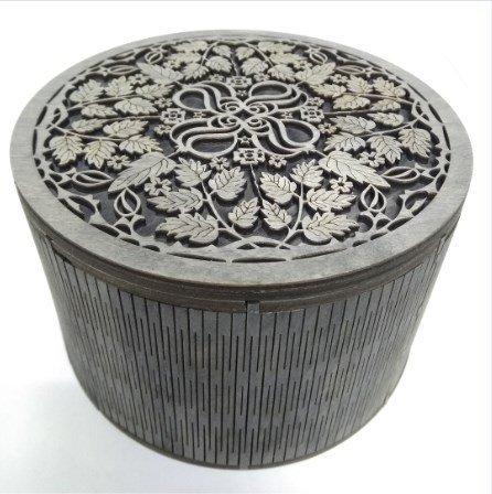 flower engraving